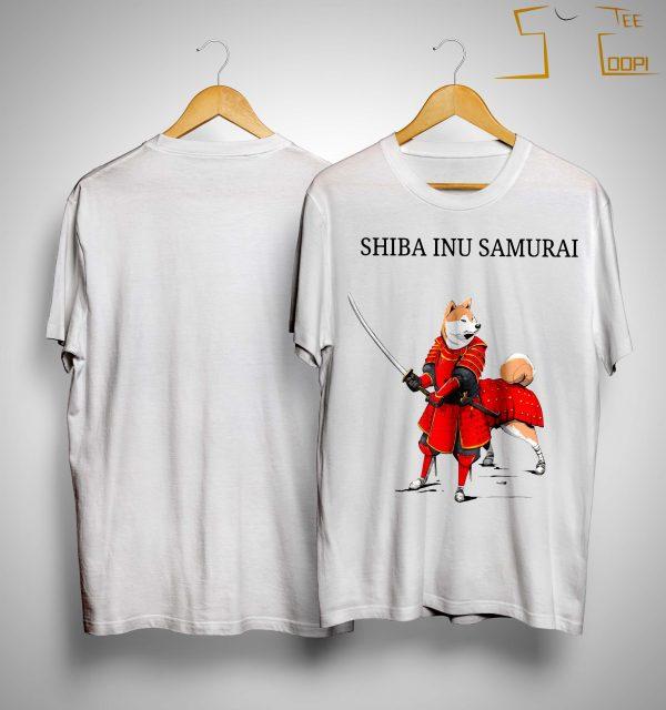 Shiba Inu Samurai Shirt