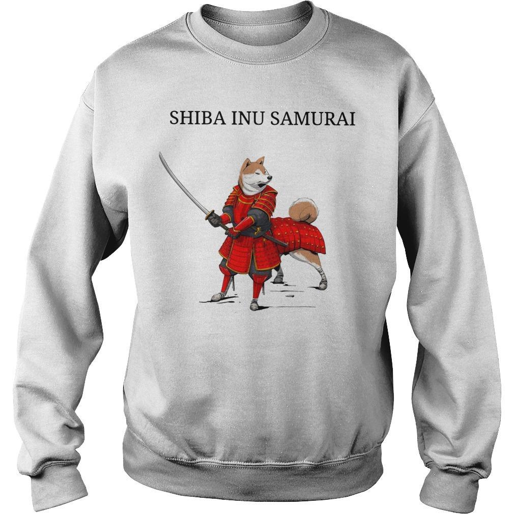 Shiba Inu Samurai Sweater