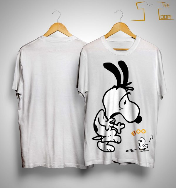 Snoopy And Woodstock Boo Shirt