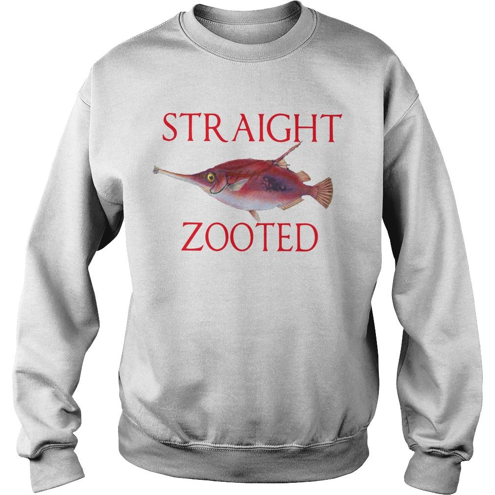 Straight Zooted Sweater