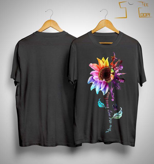 Sunflower Jack Skellington You Are My Sunshine Shirt