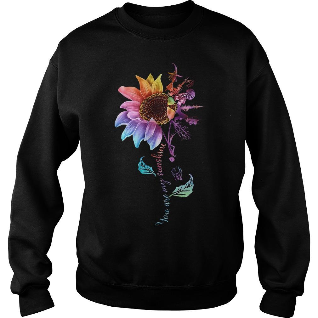 Sunflower Jack Skellington You Are My Sunshine Sweater