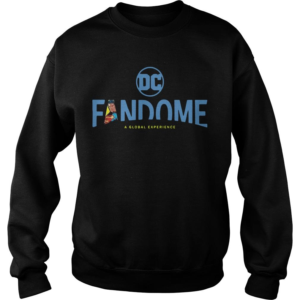 Superman Logo Fill Dc Fandome Sweater