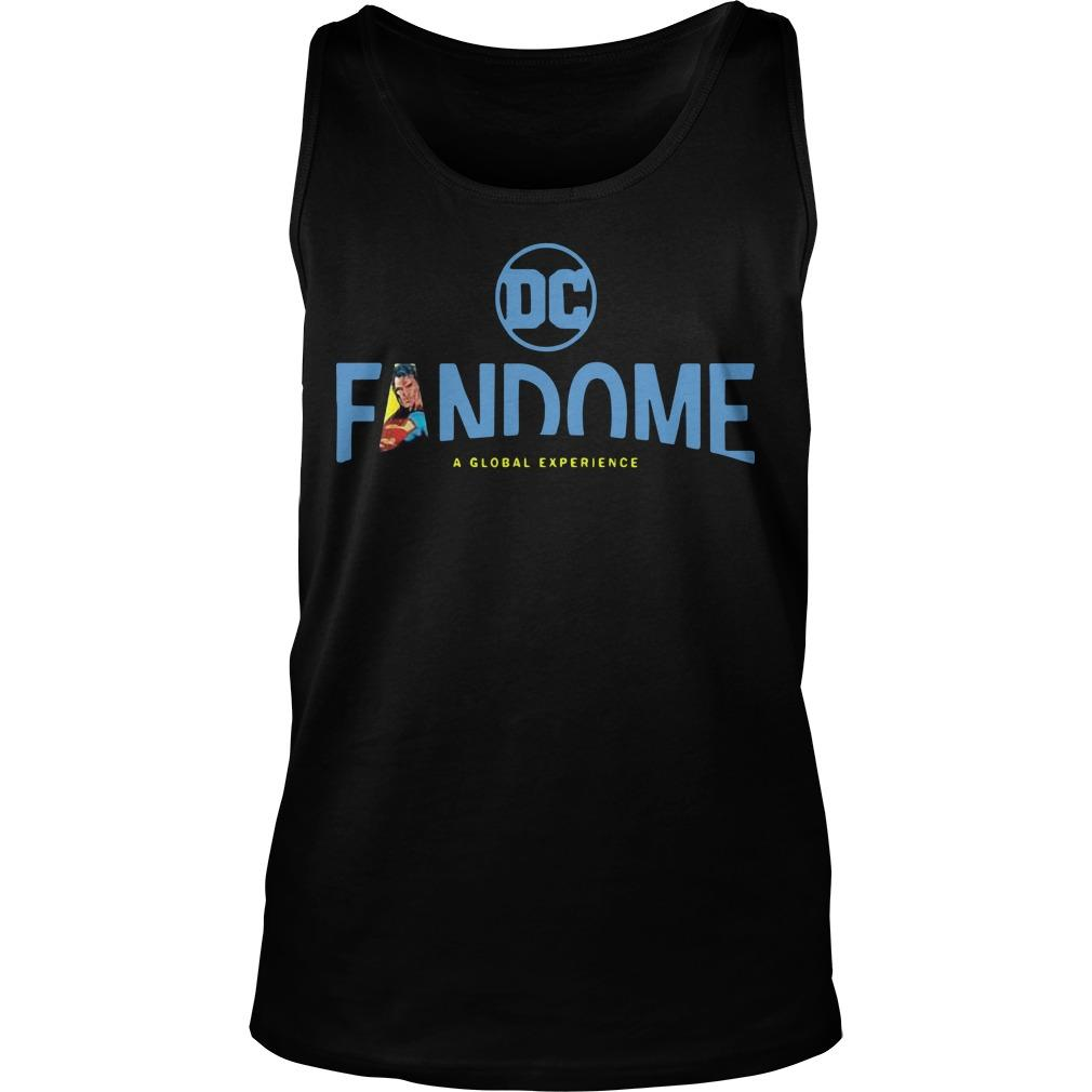 Superman Logo Fill Dc Fandome Tank Top