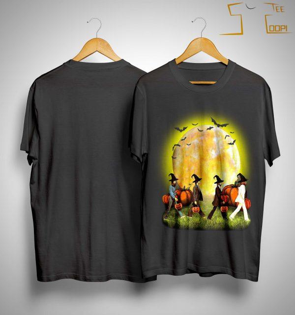 The Beatles Halloween Pumpkin Shirt