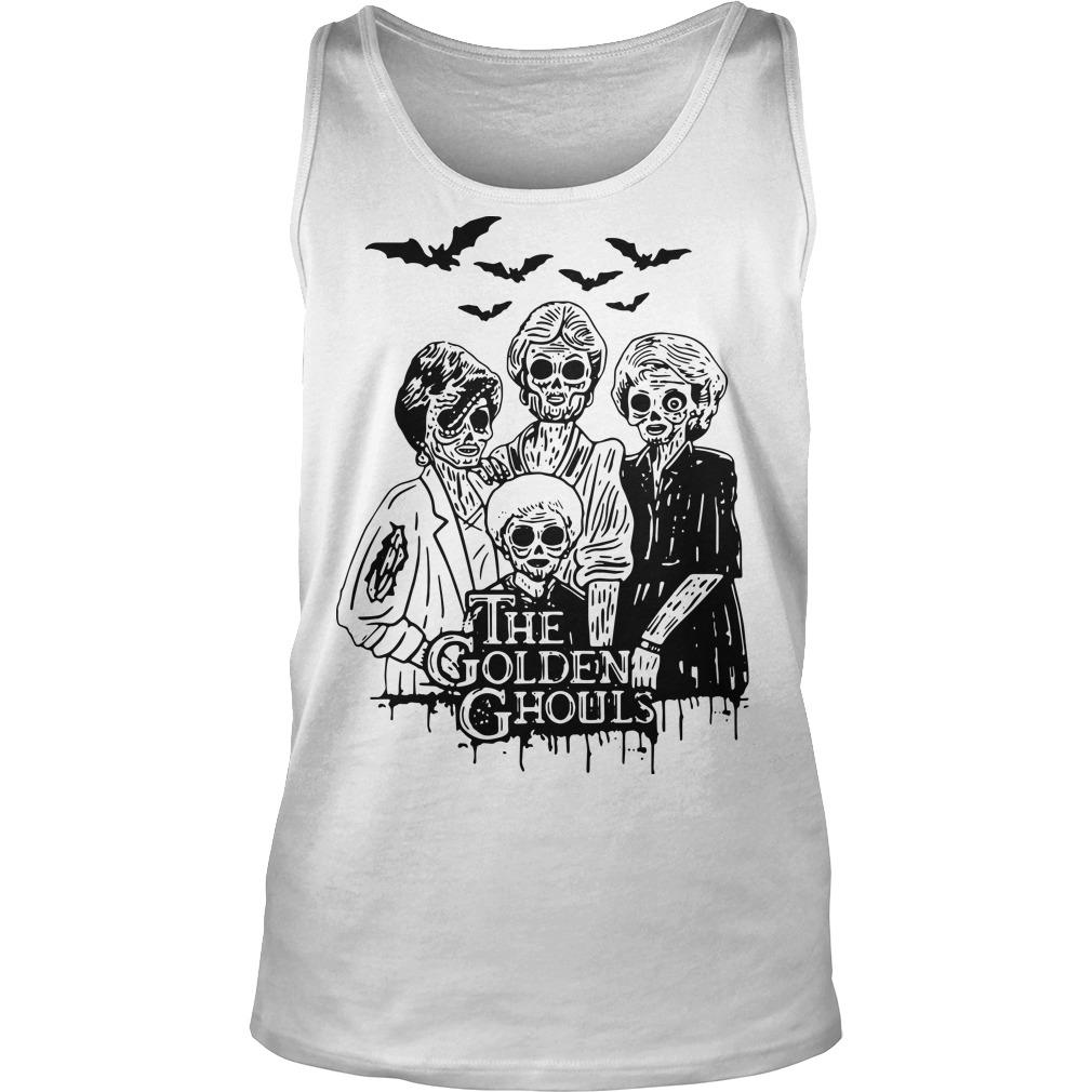 The Golden Ghouls Tank Top