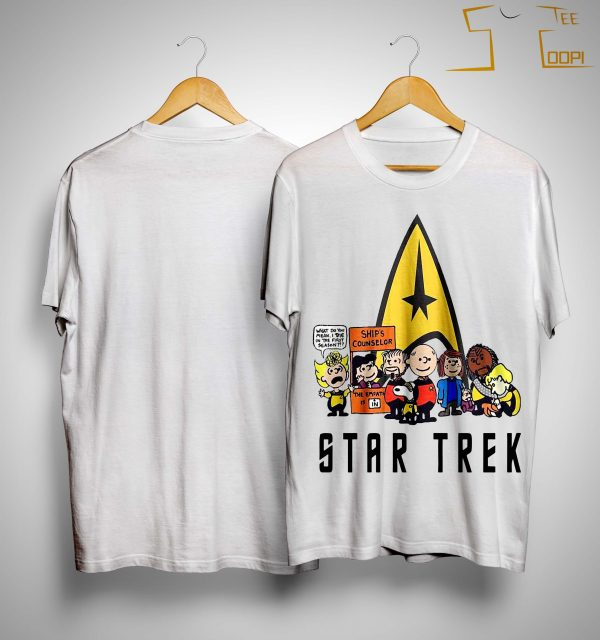 The Peanuts Star Trek Shirt