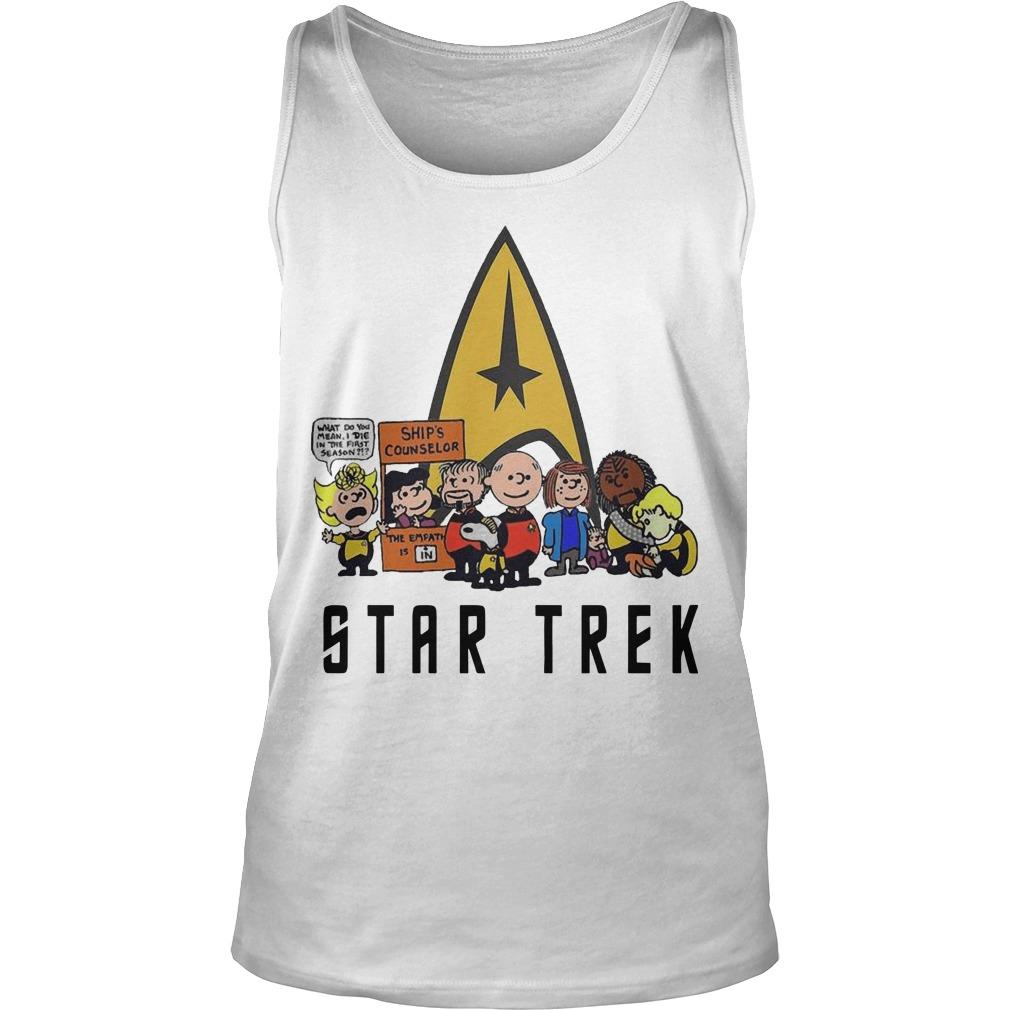 The Peanuts Star Trek Tank Top