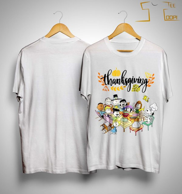 The Peanuts Thanksgiving Shirt
