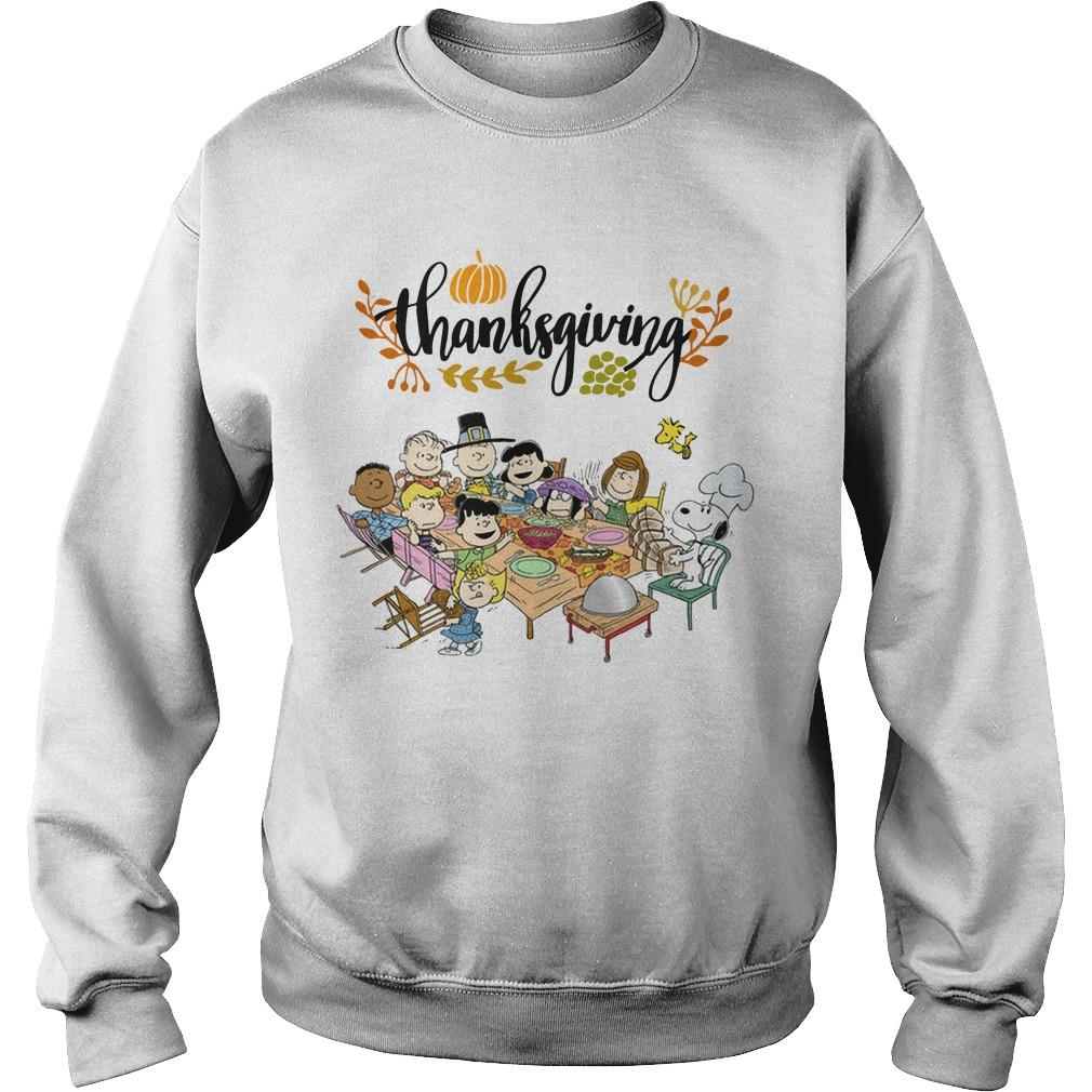The Peanuts Thanksgiving Sweater