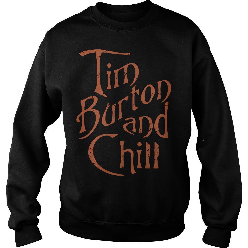 Tim Burton And Chill Sweater
