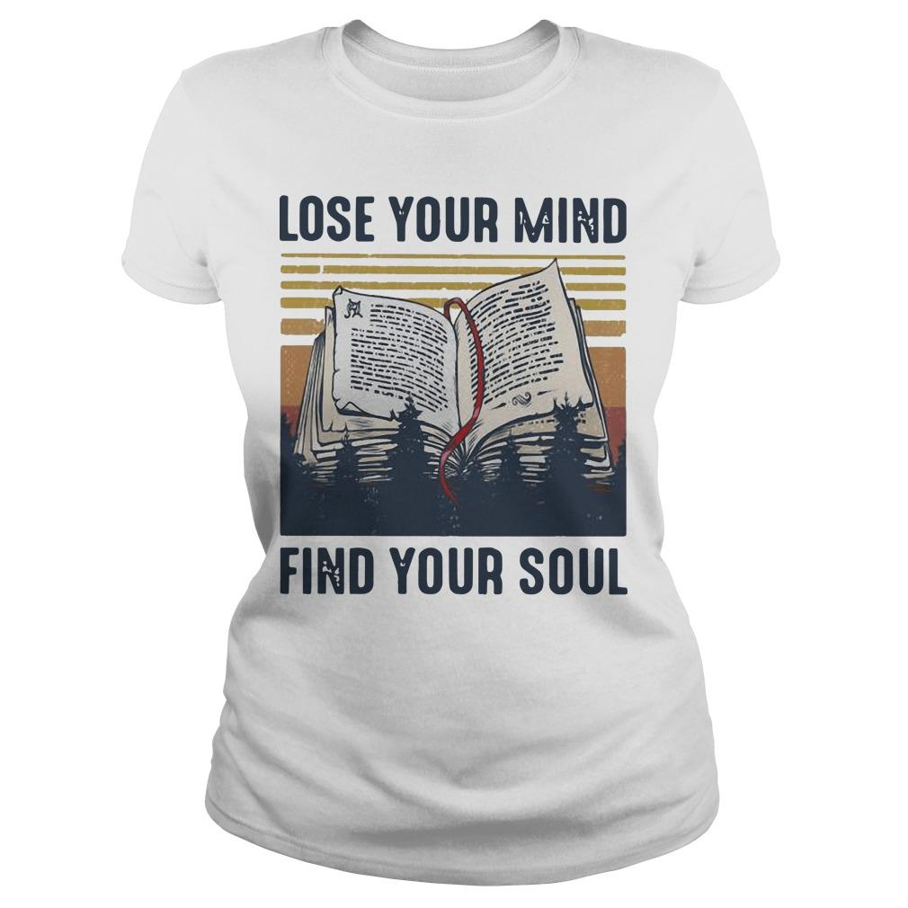 Vintage Books Lose Your Mind Find Your Soul Longsleeve