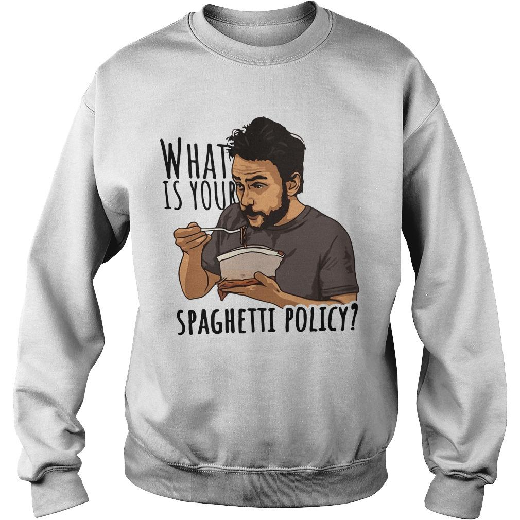 What Is Your Spaghetti Policy Sweater