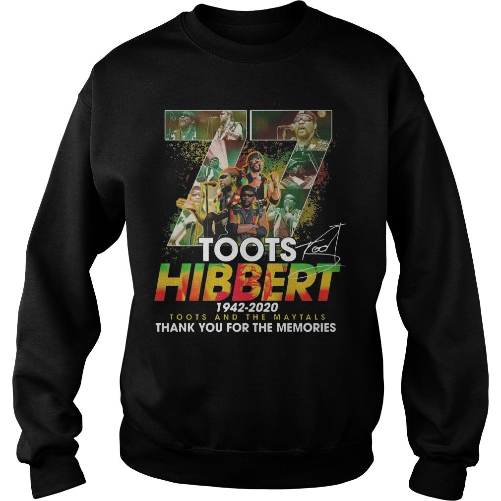 77 Toots Hibbert 1942 2020 Toots And The Maytals Sweater