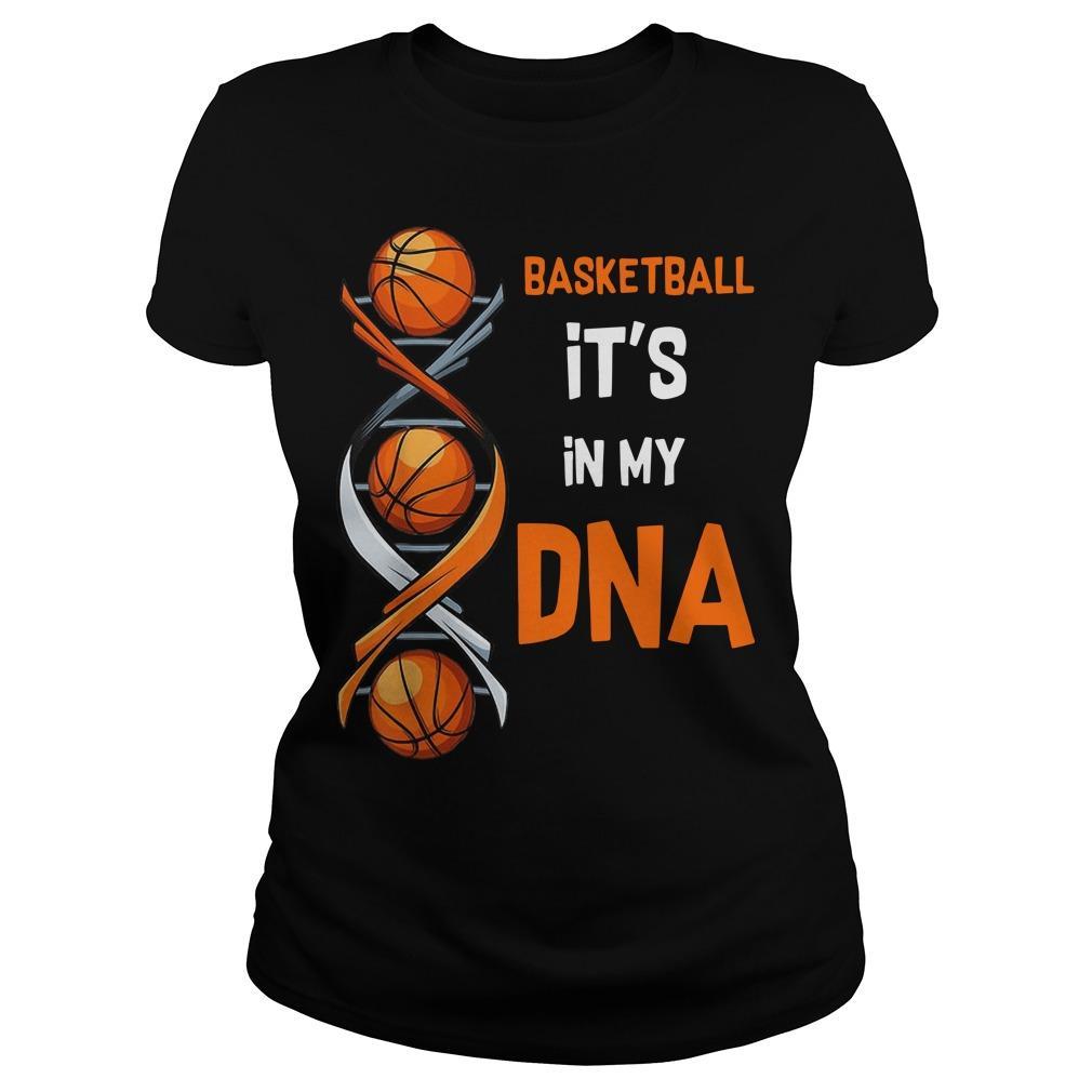 Basketball It's In My DNA Longsleeve