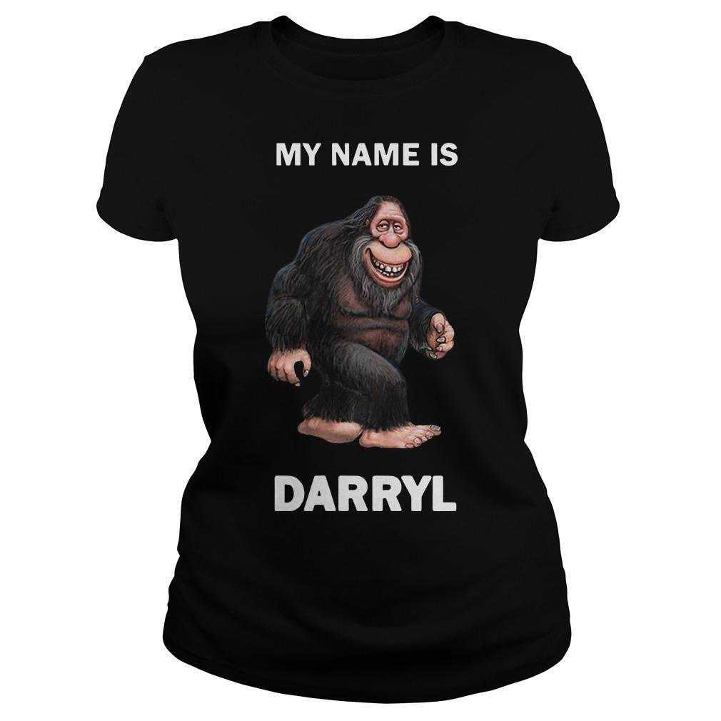 Bigfoot My Name Is Darryl Longsleeve