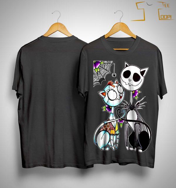 Cat Jack Skellington Shirt
