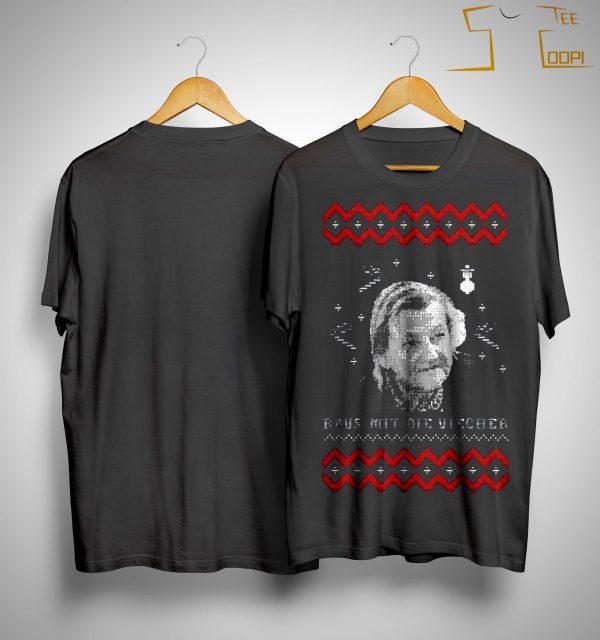 Christmas Raus Not Die Viecher Shirt