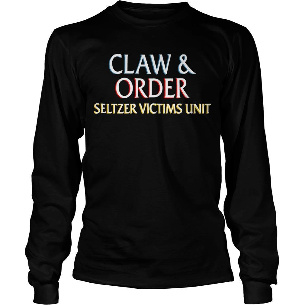 Claw And Order Seltzer Victims Unit Longsleeve