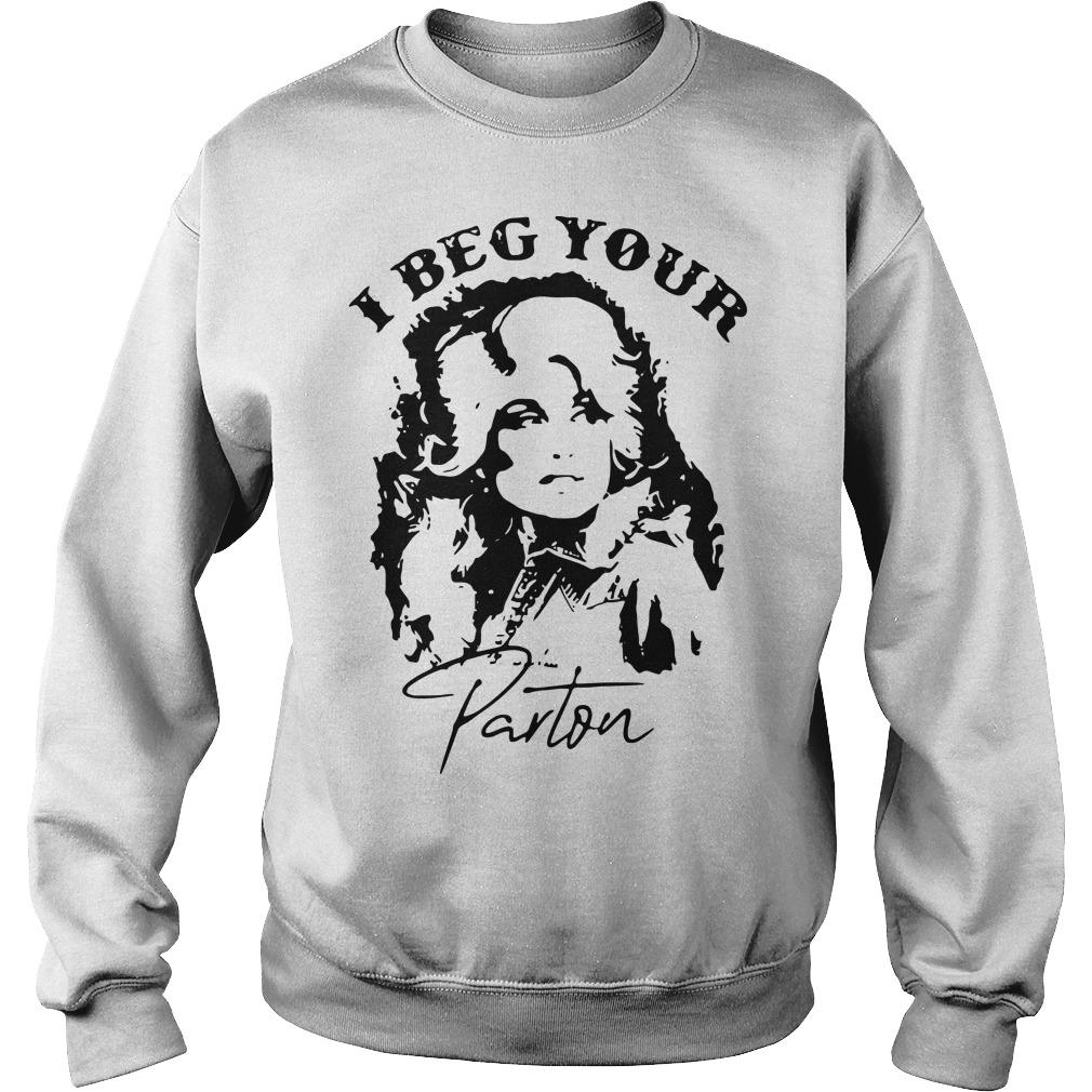 Dolly I Beg Your Parton Sweater
