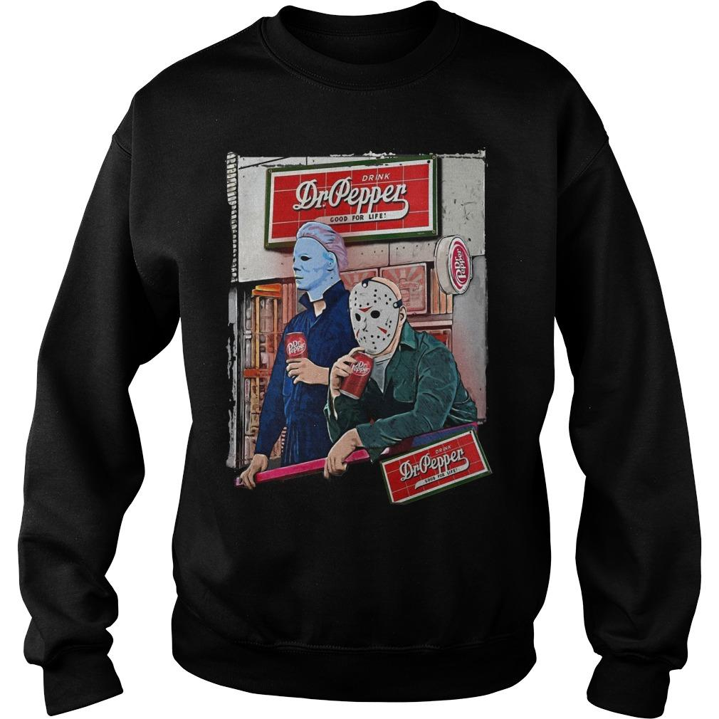 Halloween Michael Myers Dr Pepper Sweater