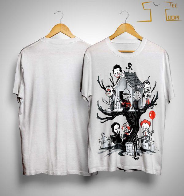 Halloween Pennywise Jason Voorhees Shirt
