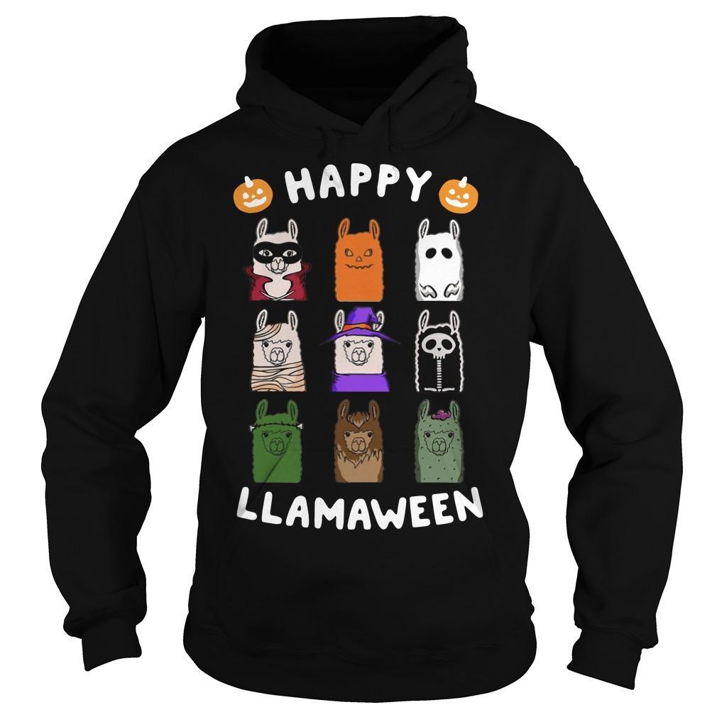 Happy Llamaween Hoodie