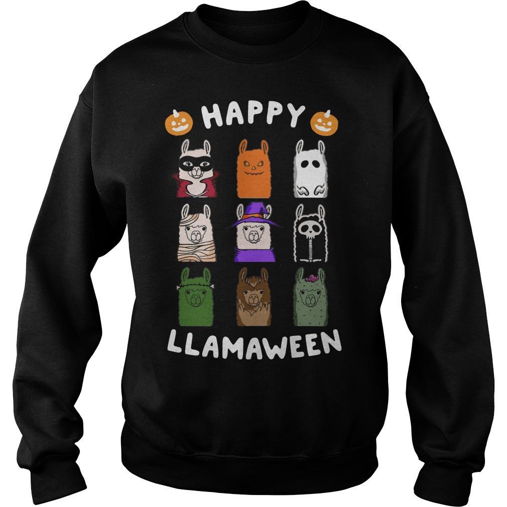 Happy Llamaween Sweater