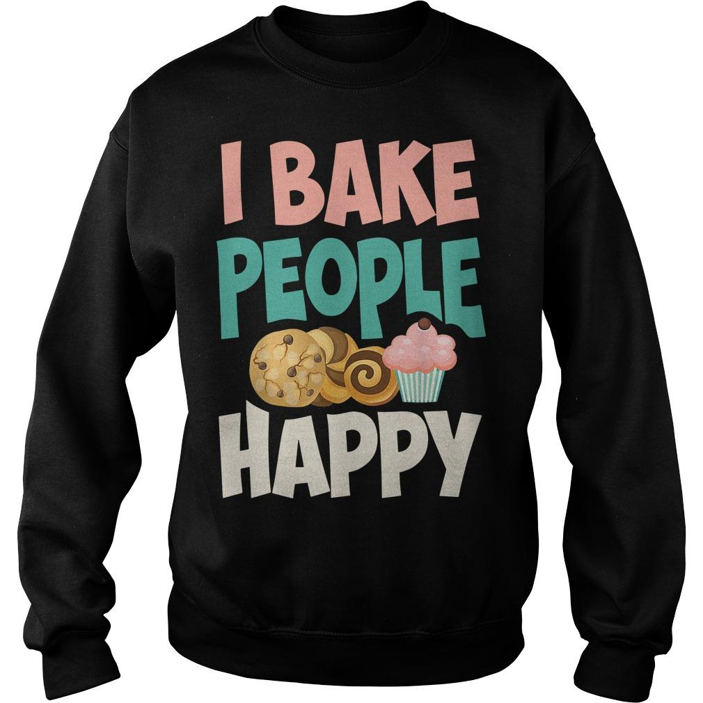 I Bake People Happy Sweater