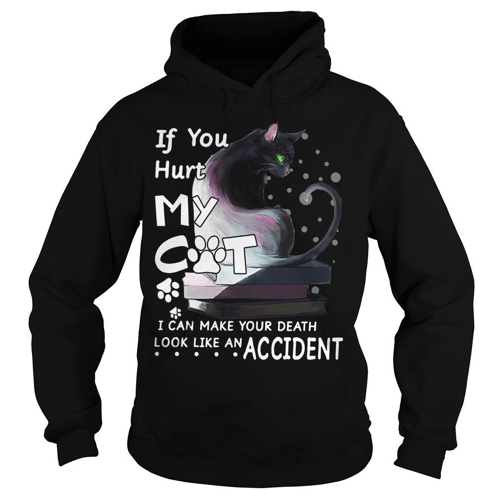 If You Hurt My Cat I Can Make Your Death Look Like An Accident Hoodie