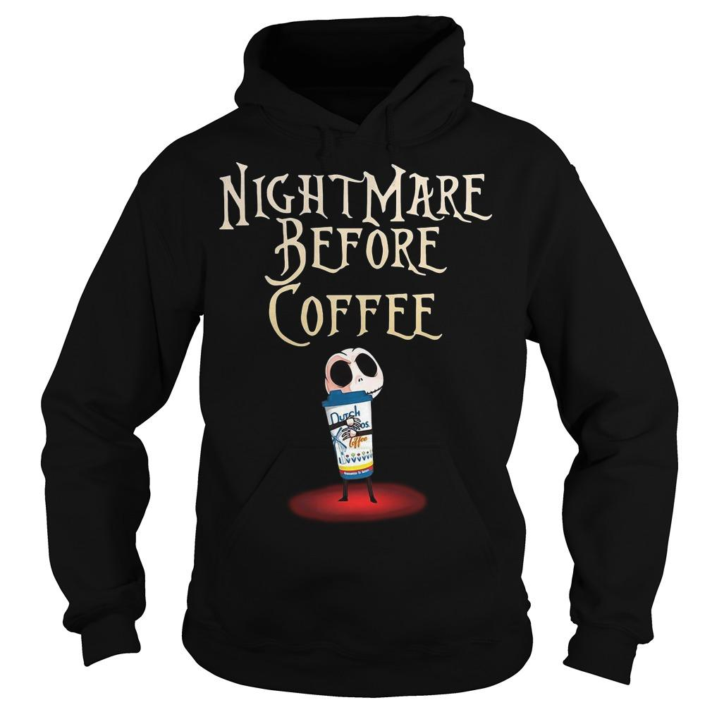 Jack Skellington Dutch Bros Coffee Nightmare Before Coffee Hoodie