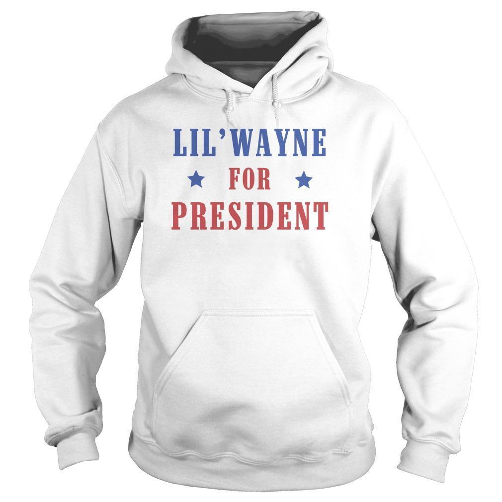 Lil Wayne For President Hoodie