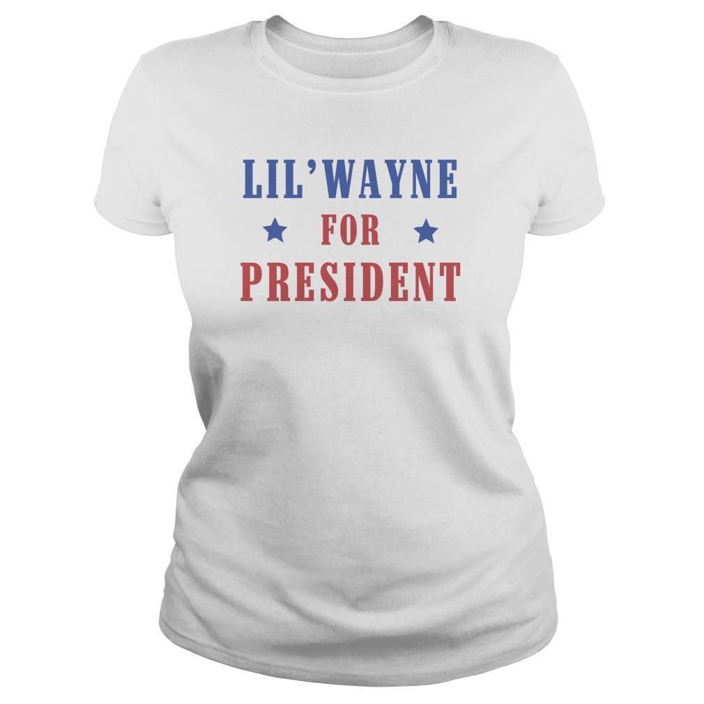 Lil Wayne For President Longsleeve