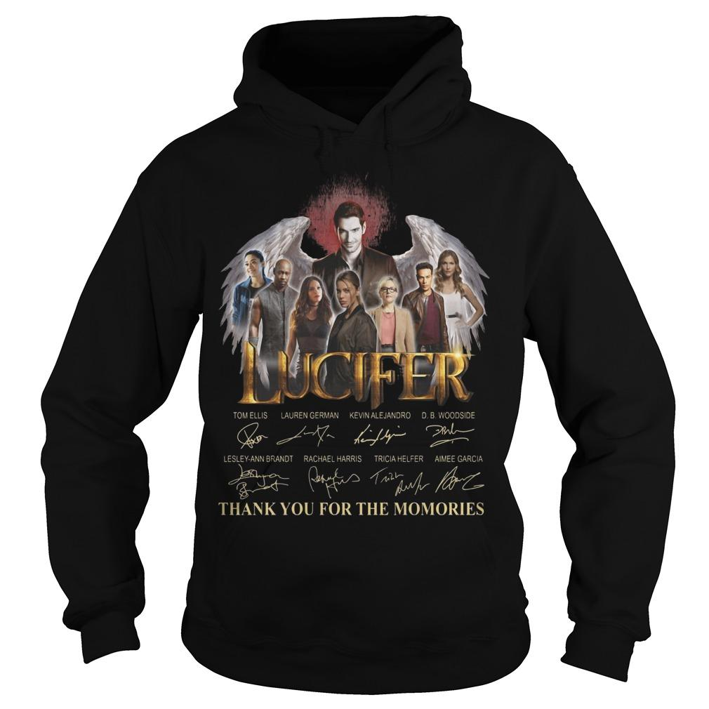 Lucifer Signatures Thank You For The Memories Hoodie