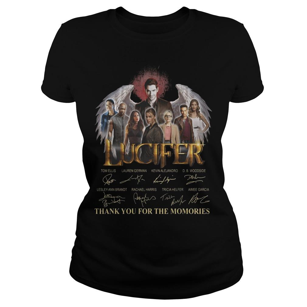 Lucifer Signatures Thank You For The Memories Longsleeve
