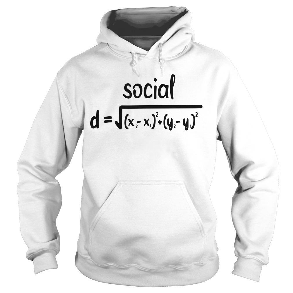 Math Formula Social Distance Hoodie