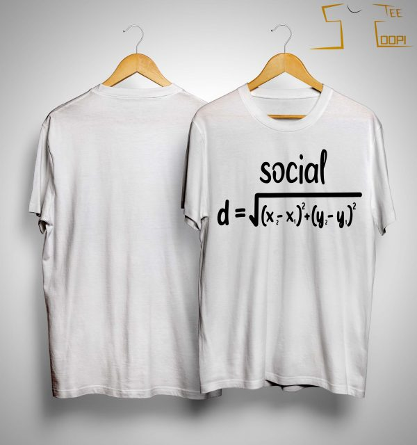 Math Formula Social Distance Shirt
