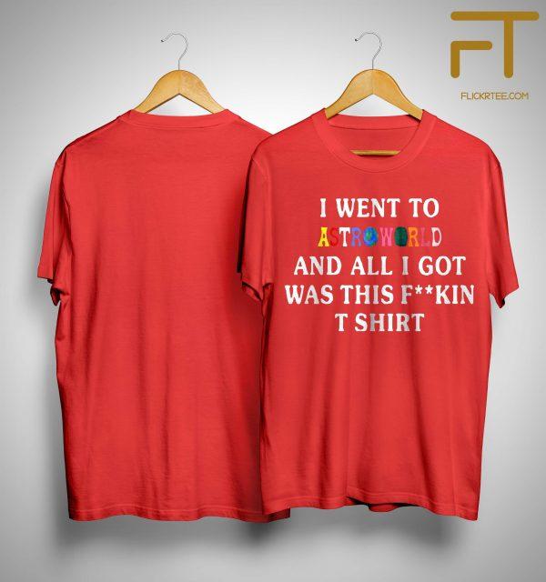 Mcdonalds Travis Scott Shirt