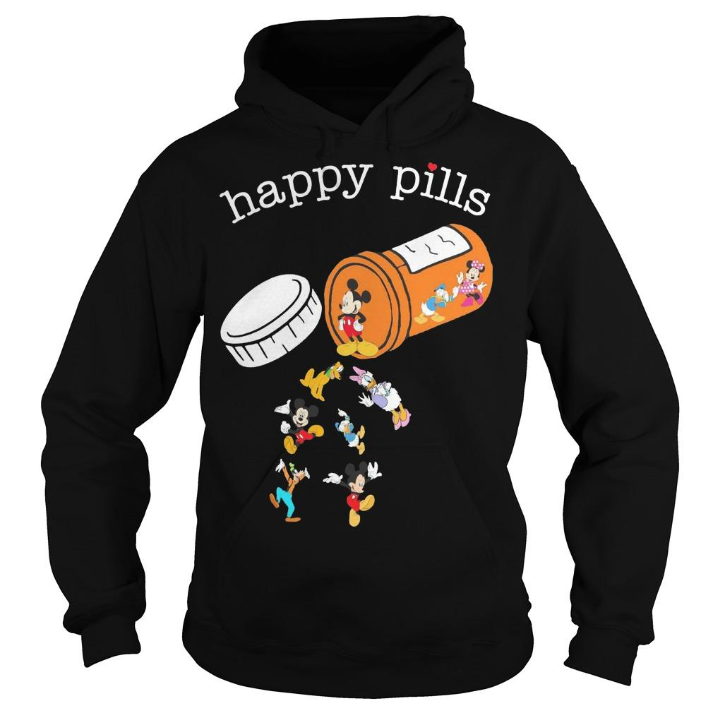 Mickey Mouse Happy Pills Hoodie