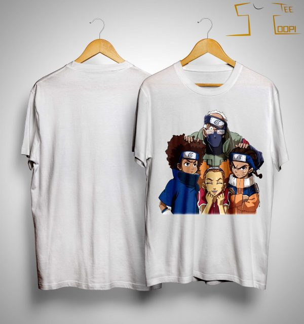 Naruto Team 7 Black People Shirt