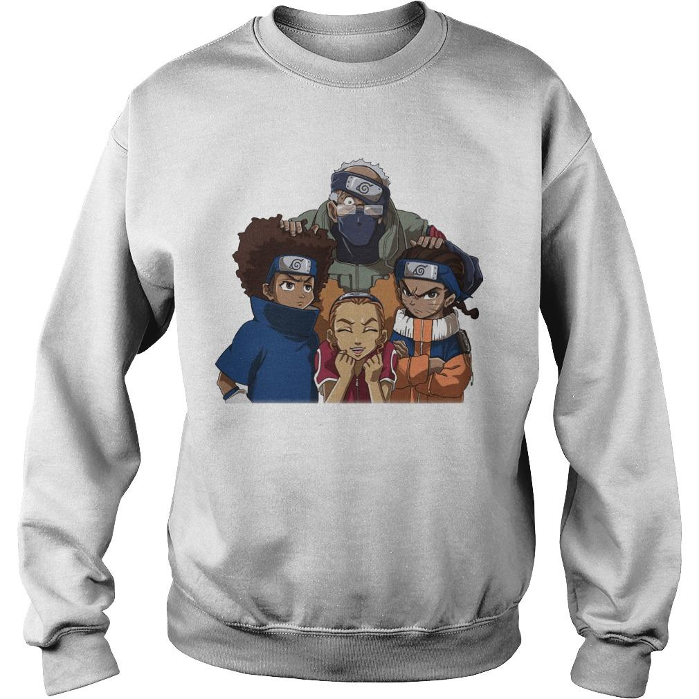 Naruto Team 7 Black People Sweater