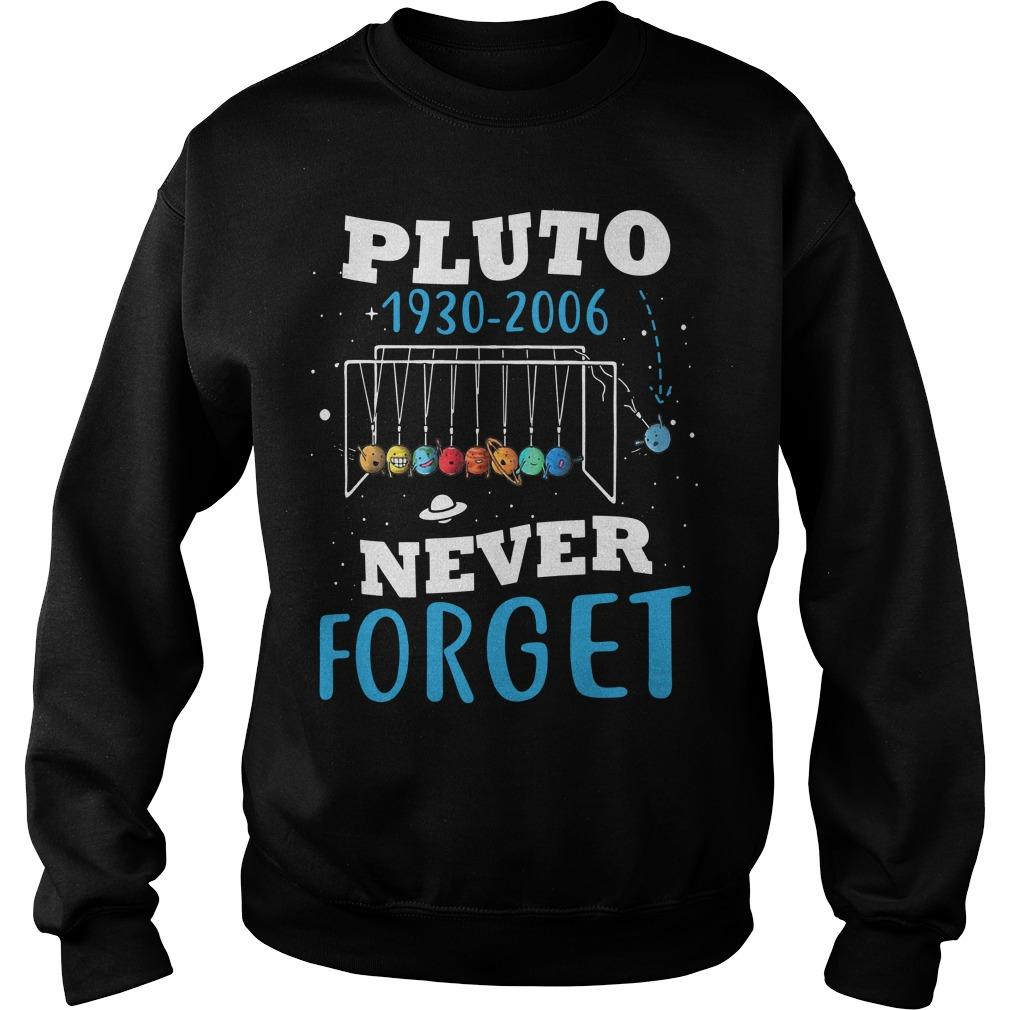 Pluto 1930 2006 Never Forget Sweater