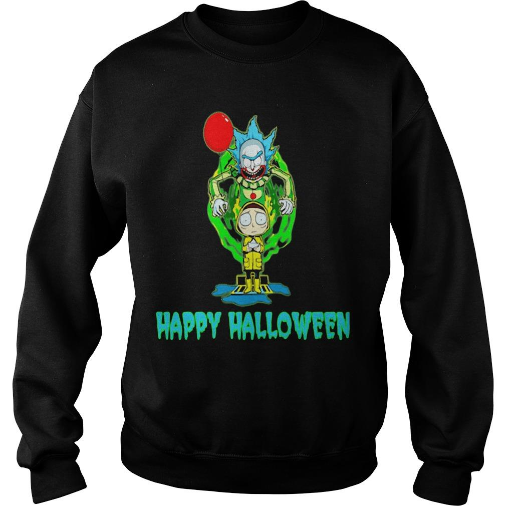 Rick And Morty It Happy Halloween Sweater