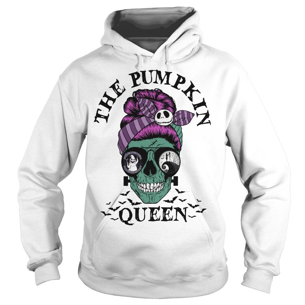 Skull Girl The Pumpkin Queen Hoodie
