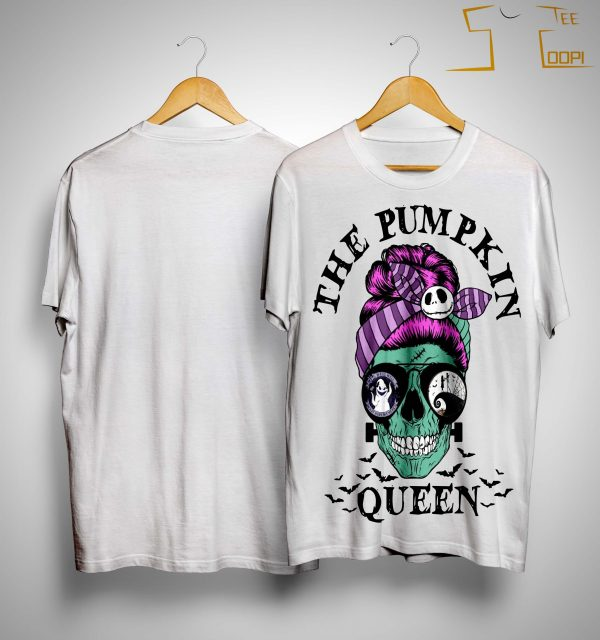 Skull Girl The Pumpkin Queen Shirt