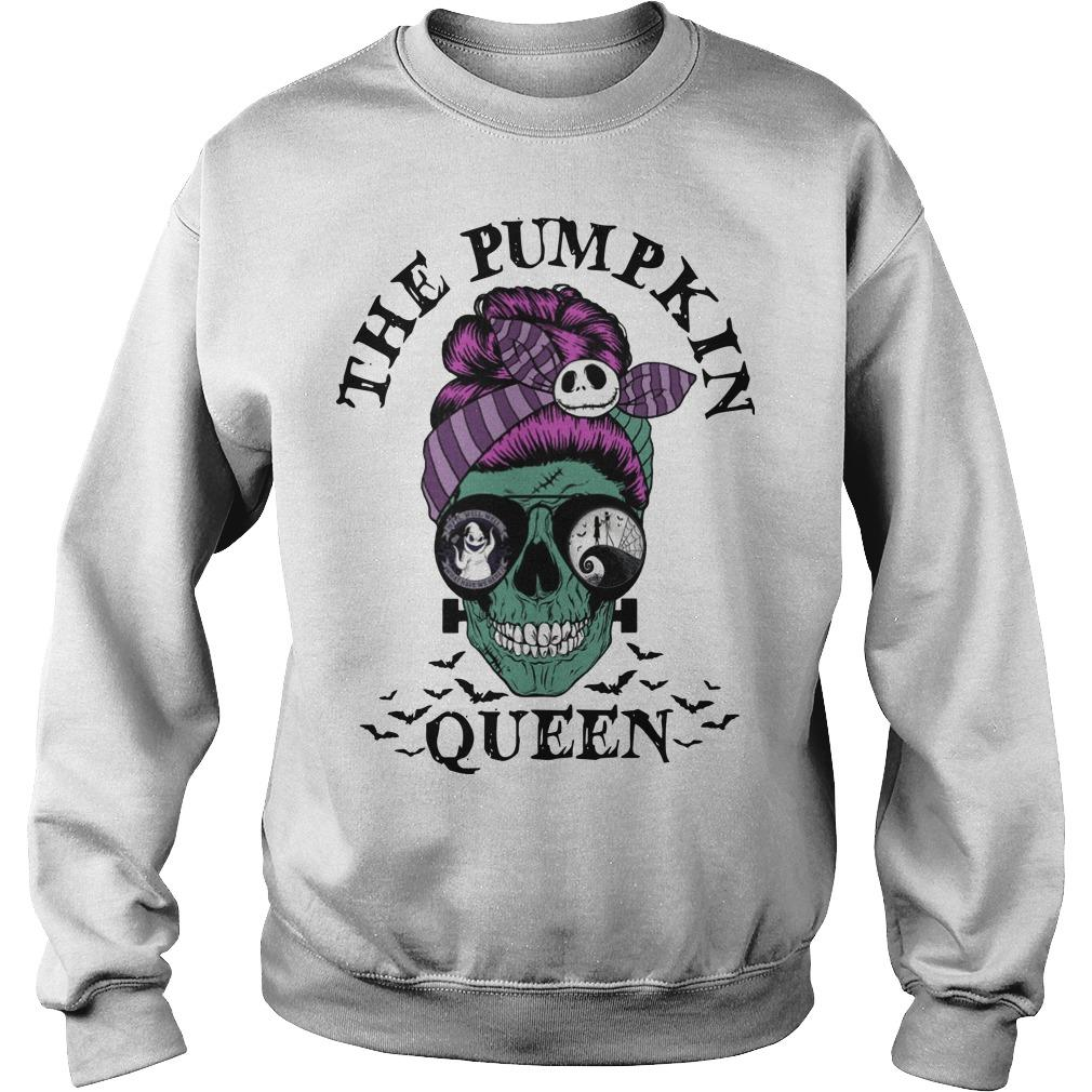 Skull Girl The Pumpkin Queen Sweater