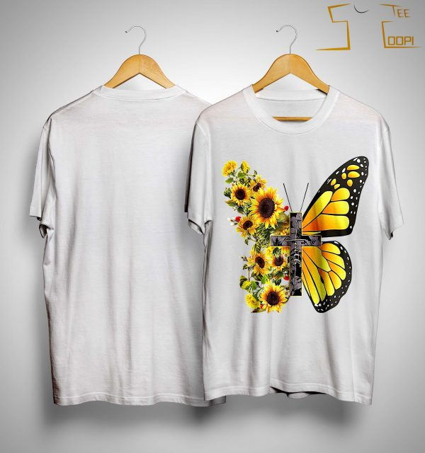 Sunflower Butterfly Faith Shirt