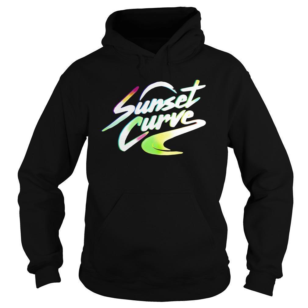 Sunset Curve Hoodie