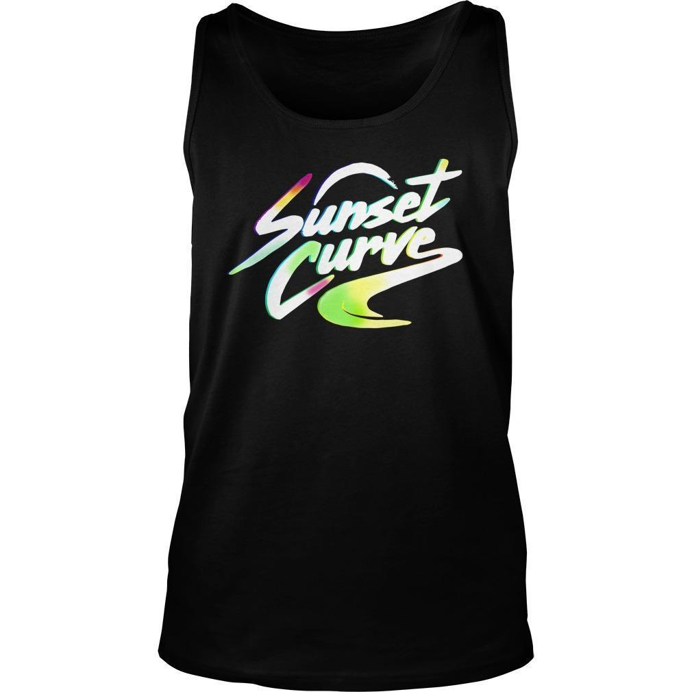 Sunset Curve Tank Top
