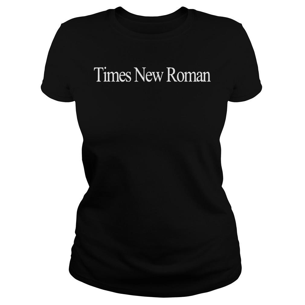 Times New Roman Longsleeve